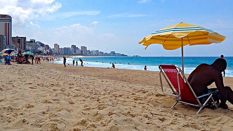 Rio de Janeiro Beach Leblon